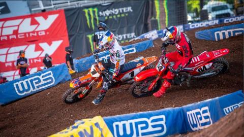 Webb Wins Second Wednesday 450SX Class