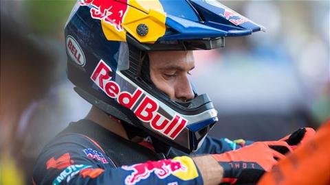 COOPER WEBB TO MISS REMAINDER OF 2020 RACE SEASON DUE TO ONGOING BACK INJURY