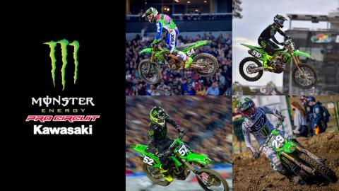 Monster Energy®/Pro Circuit/Kawasaki Race Team 2021 Roster