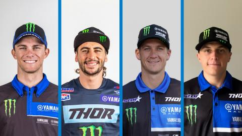 Yamaha Announces 2021 Supercross Teams