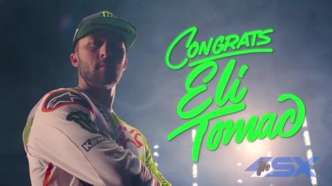 Congrats Eli Tomac!