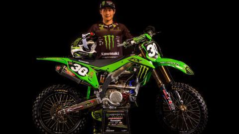 Jo Shimoda joins Monster Energy®/Pro Circuit/Kawasaki Team