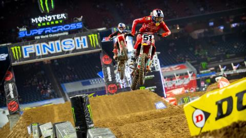 Against the Odds, Justin Barcia Three-Peats Supercross Opener
