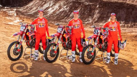 GASGAS NORTH AMERICA PRESENTS DIVERSE LINE-UP OF TALENTED RIDERS