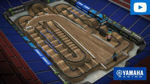 Yamaha Animated Track Map|ROUND 1|01-16-2021