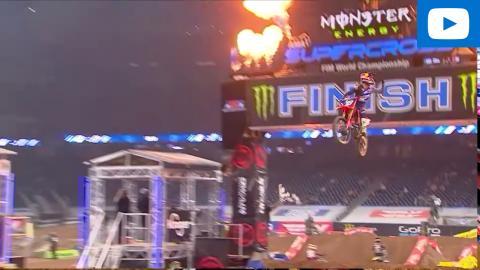 250SX Main Event Highlights | 2021 Round 2 | Houston, TX