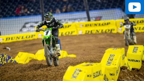 450SX Main Event Highlights | 2021 Round 2 | Houston, TX