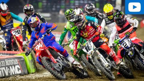 450SX Main Event Highlights