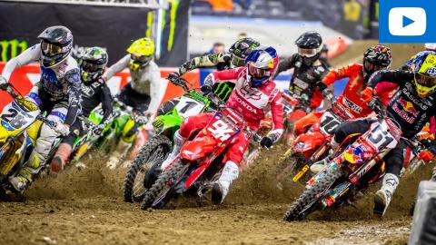450SX Main Event Highlights | 2021 Round 5 | Indianapolis, IN