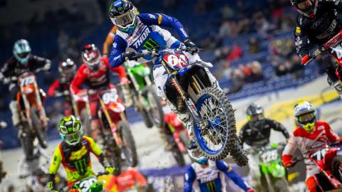 Supercross Racer Turns Setback into Season-Defining Ride