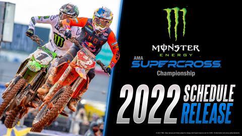 2022 Supercross Schedule Release