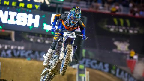 Monster Energy Supercross AMA Championship legend Ryan Villopoto