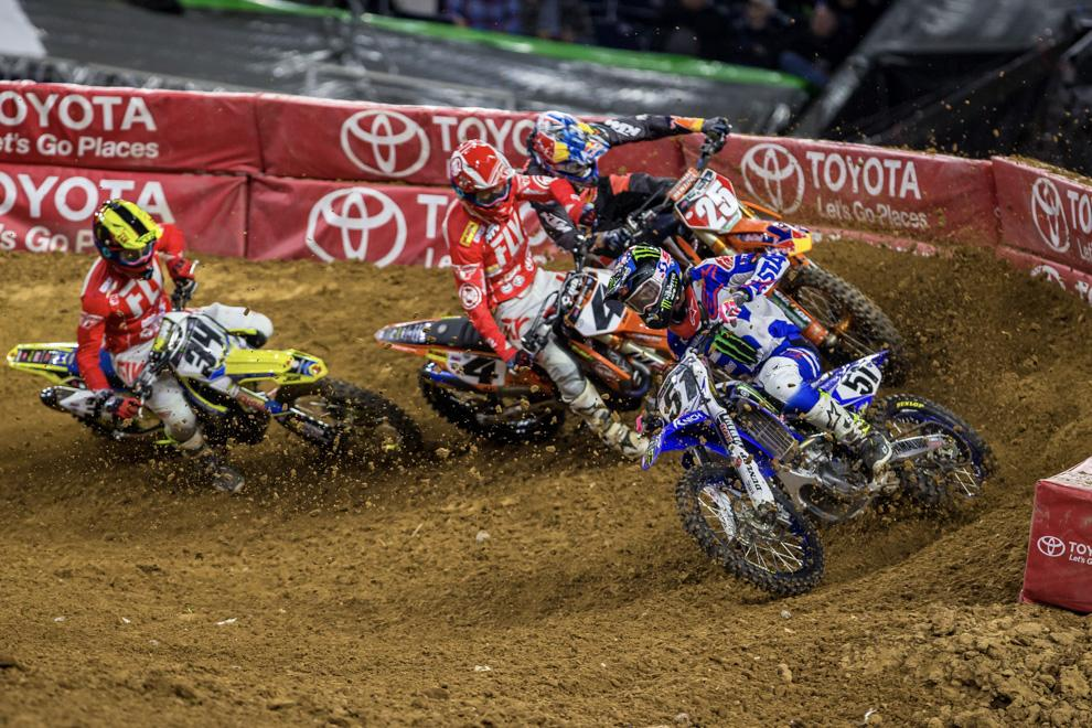 Monster Energy AMA Supercross in Salt Lake City + Giveaway