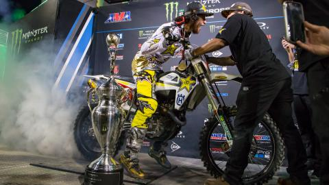 Jason Anderson Celebration