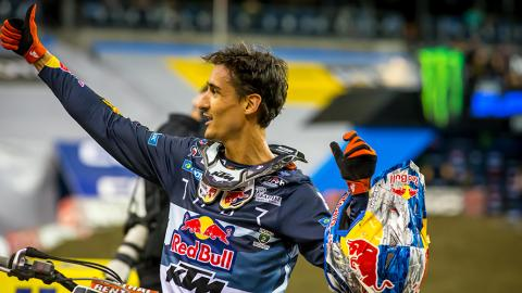 Marvin Musquin celebration