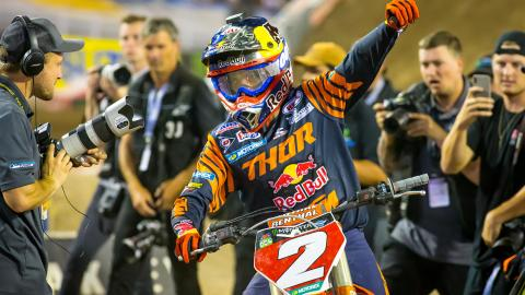 Cooper Webb Becomes Champion