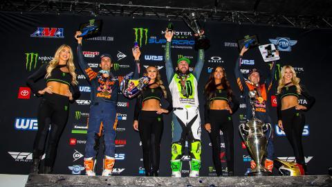 450SX podium