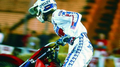 Johnny O'Mara - 1984 - Photo Courtesy Racer X