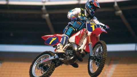Jean-Michel Bayle - 1991 - Photo Courtesy Racer X