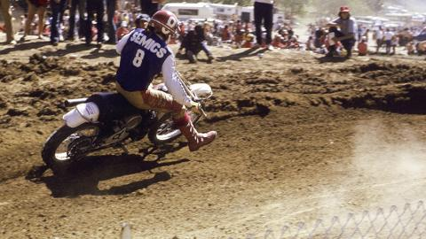 Gary Semics - 1974 500cc - Photo Courtesy Racer X