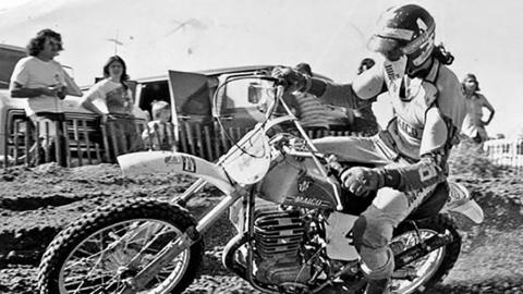 Steve Stackable - 1975 500cc - Photo Courtesy Racer X