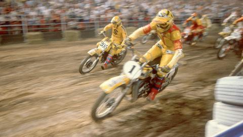 Bob Hannah - 1977, 1978, 1979 - Photo Courtesy Racer X