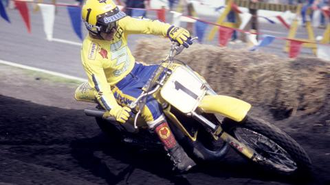 Mark Barnett - 1981 - Photo Courtesy Racer X
