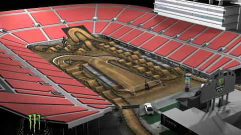 Monster Energy Cup track overview