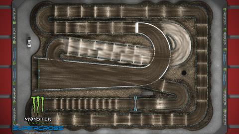 Raymond James Stadium Tampa, FL Feb. 15 2020 Monster Energy Supercross Track Map Overview