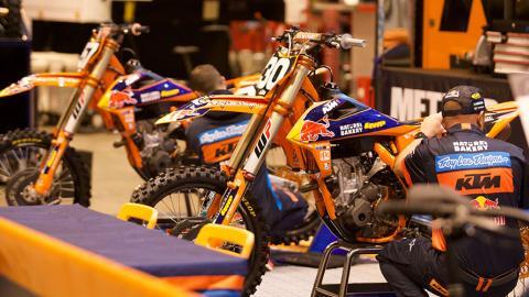 KTM 250's