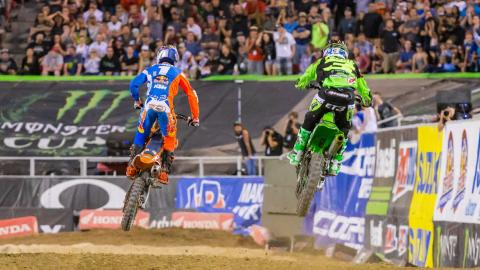 Dungey and Tomac battle in Las Vegas