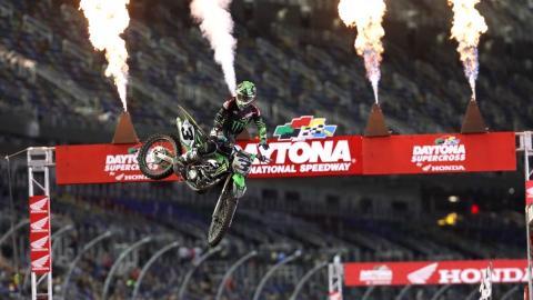 Eli Tomac wins Daytona