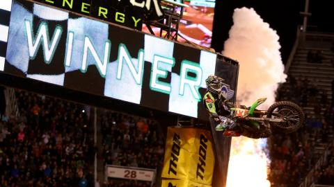 Tomac wins Salt Lake City
