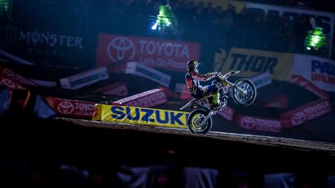 Jason Anderson Wins Houston