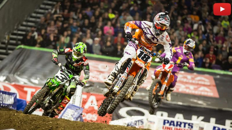 Crown Toyota Lawrence >> 450SX highlights: SX returns to Minneapolis | Supercross Live